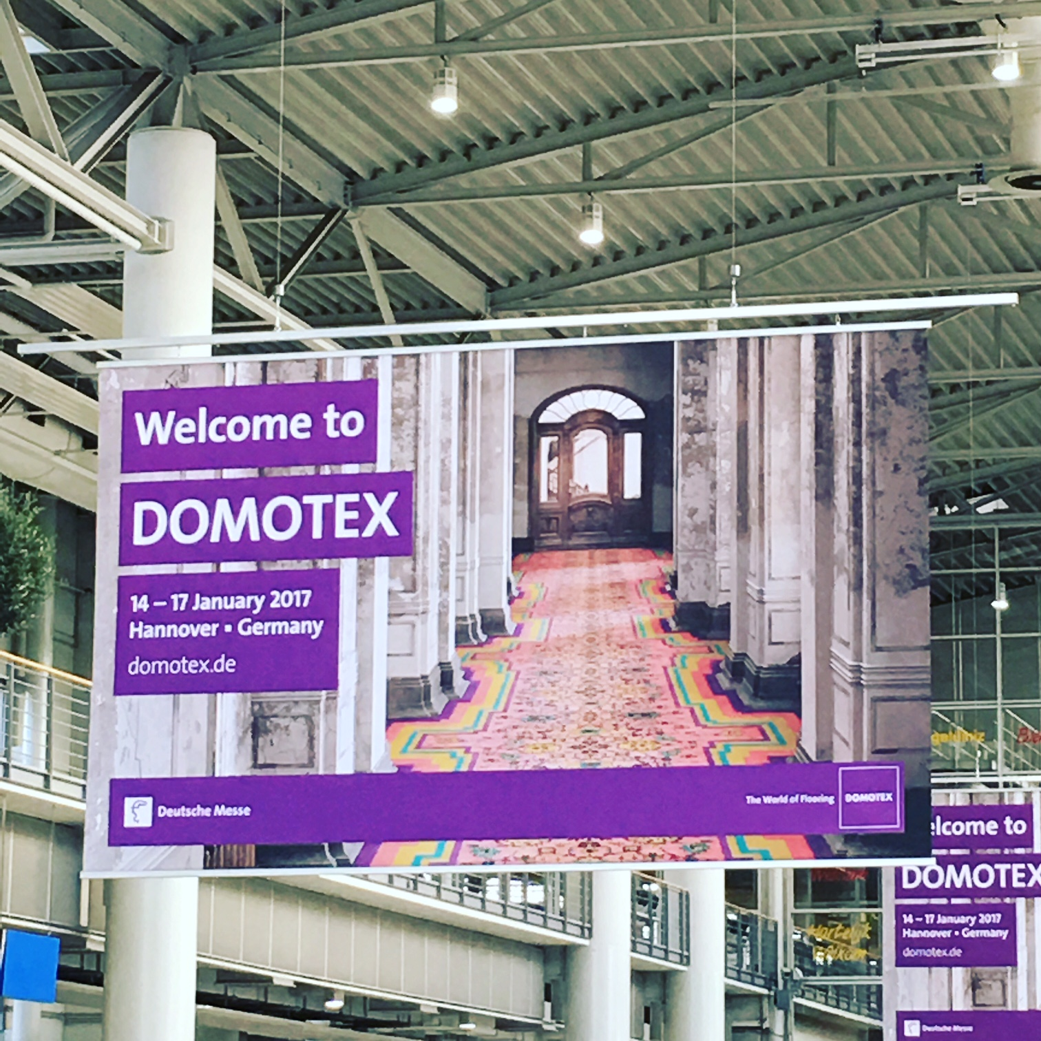 Domotex 2017 / Hannover - Germany